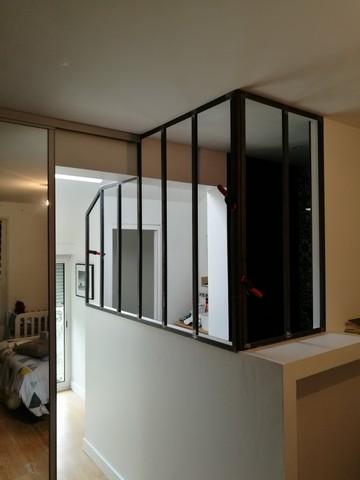 Verrière sur-mesure salle de bain | Art Mur